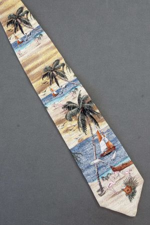 a892cb0e9 Novelty men's neckties with elephants with birds, bees and butterflies